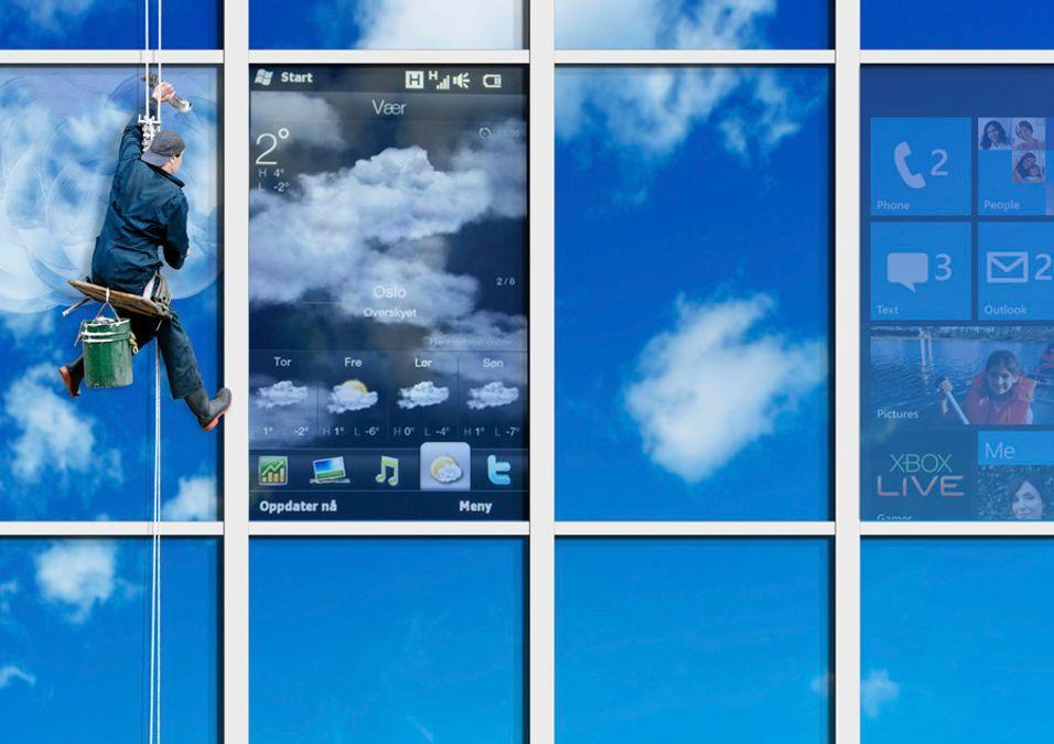 Se Windows Phone 7 på HD2