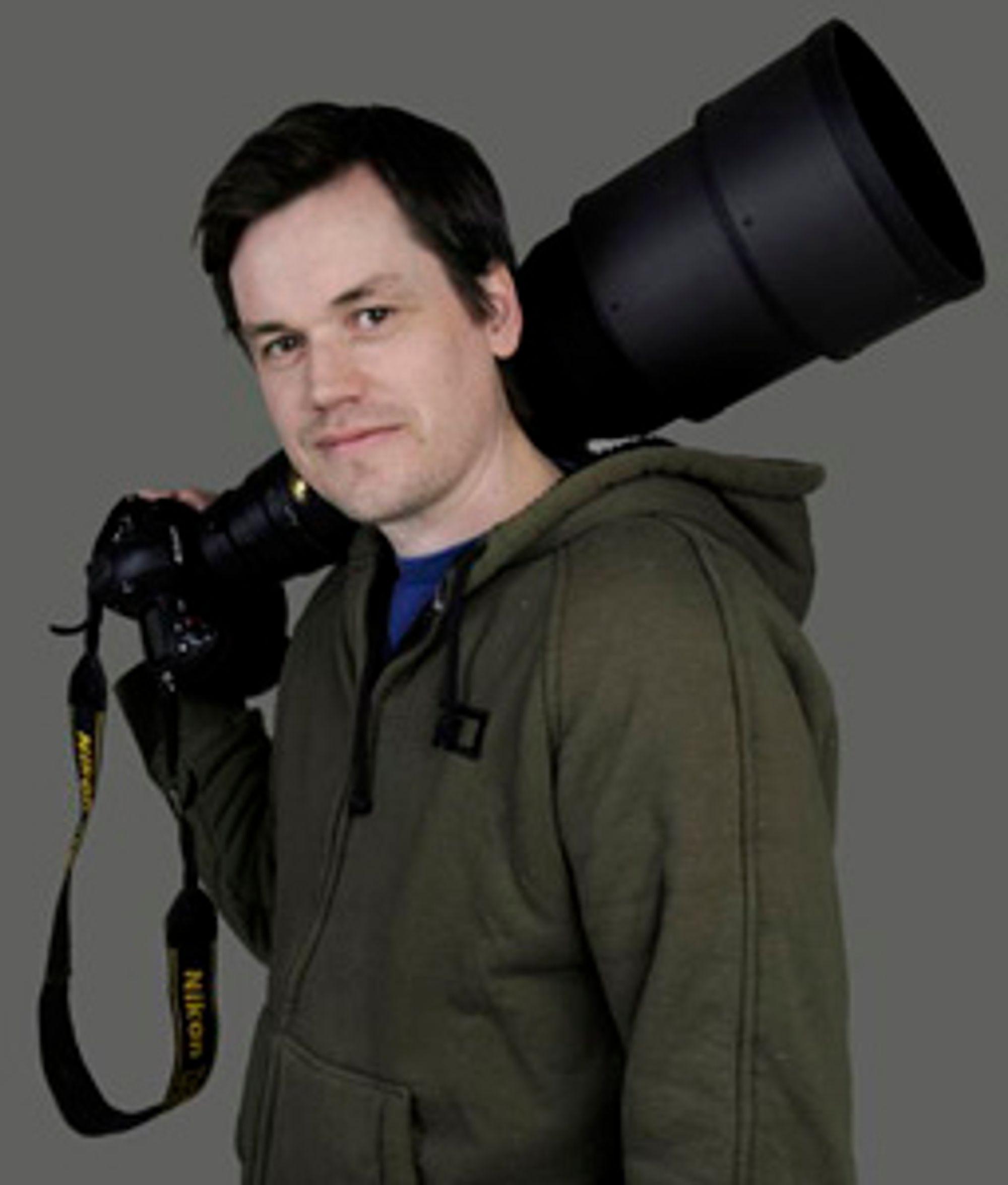 Ole Jørgen Liodden blir Nikon-ambassadør.