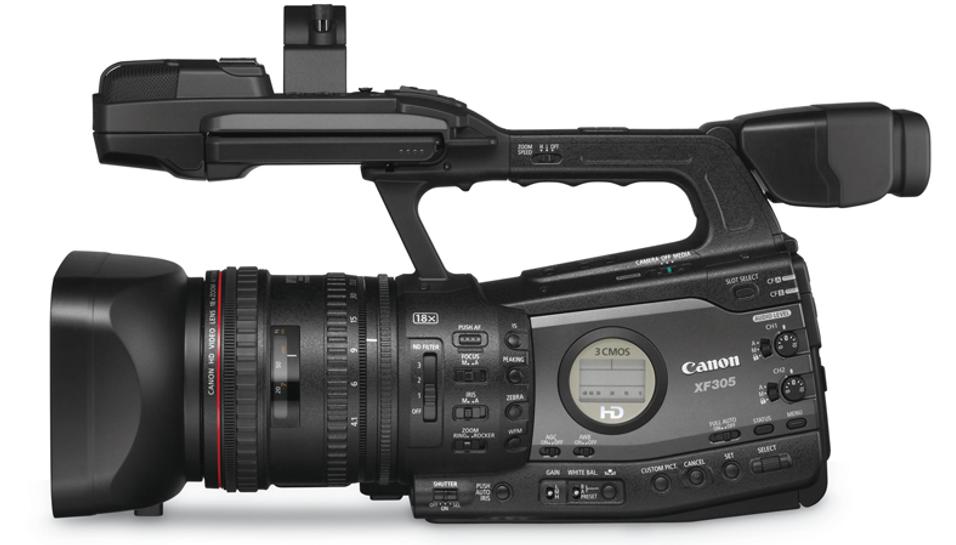 Canon slipper semipro videokameraer