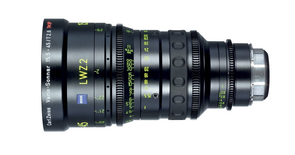 Carl Zeiss slipper proffobjektiver for filmproduksjon