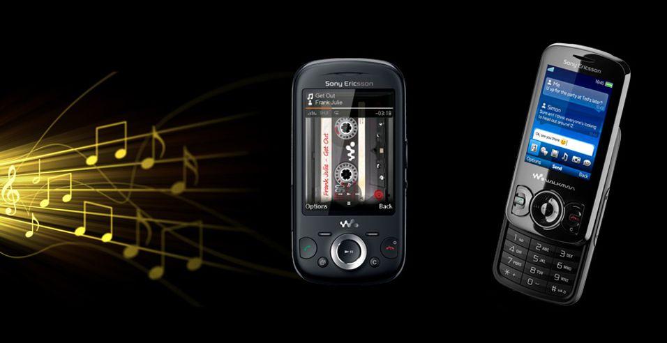 Nye musikkmobiler fra Sony Ericsson
