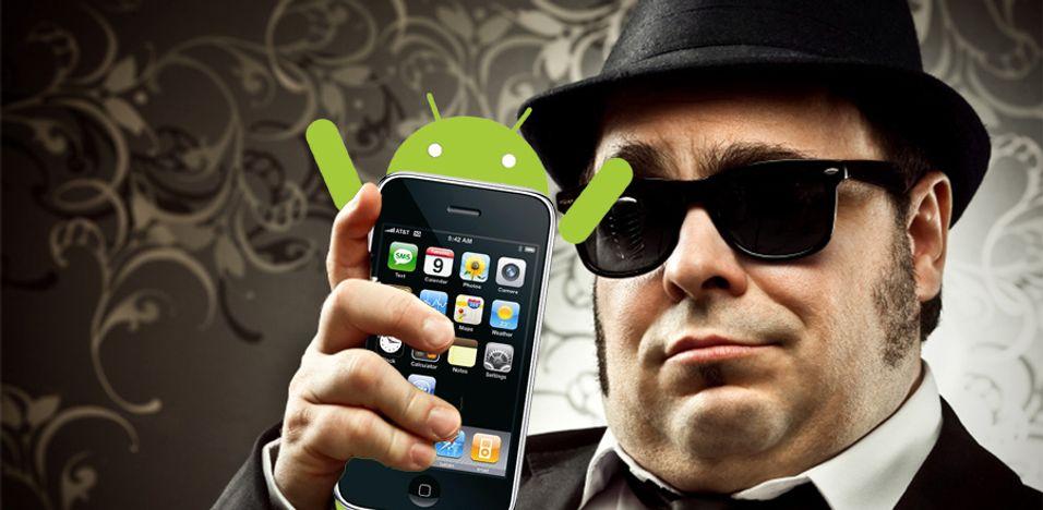 Se Android kjøre på Iphone