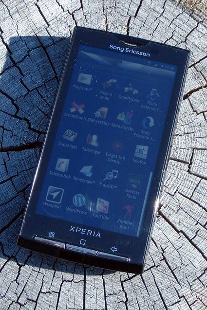 Xperia X10 slår ikke sprekker