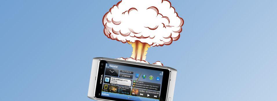 Nokia-telefon med Atom-prosessor i 2011