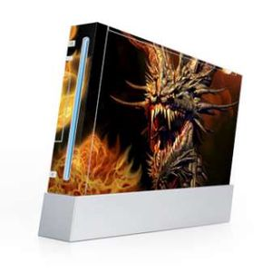 Nintendo Wii Skin - Dragon's Breath