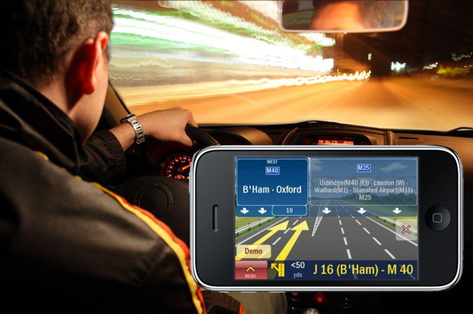 Iphone-navigasjon blir billigere