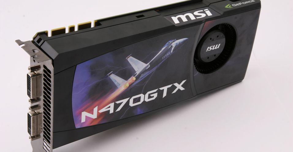 TEST: MSI Geforce GTX 470