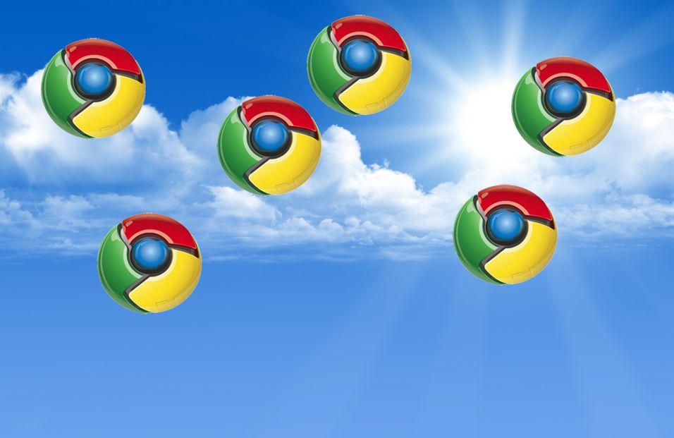Crome OS er nettsky-basert