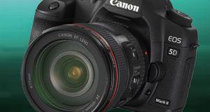 Canon 5D Mark II på dypt vann