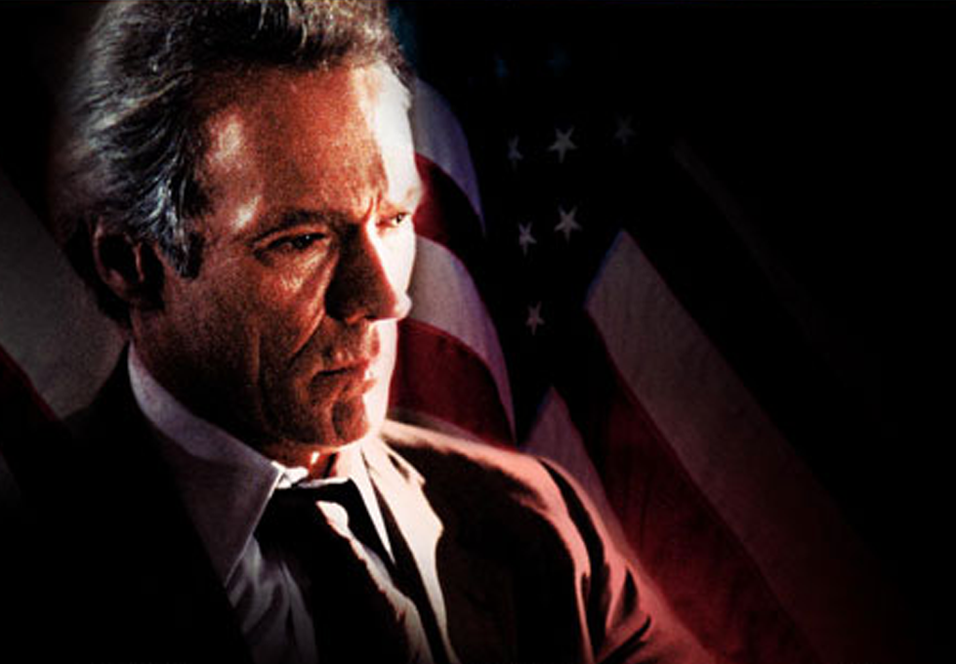 Clint Eastwood som Luther Whitney i Absolute Power.