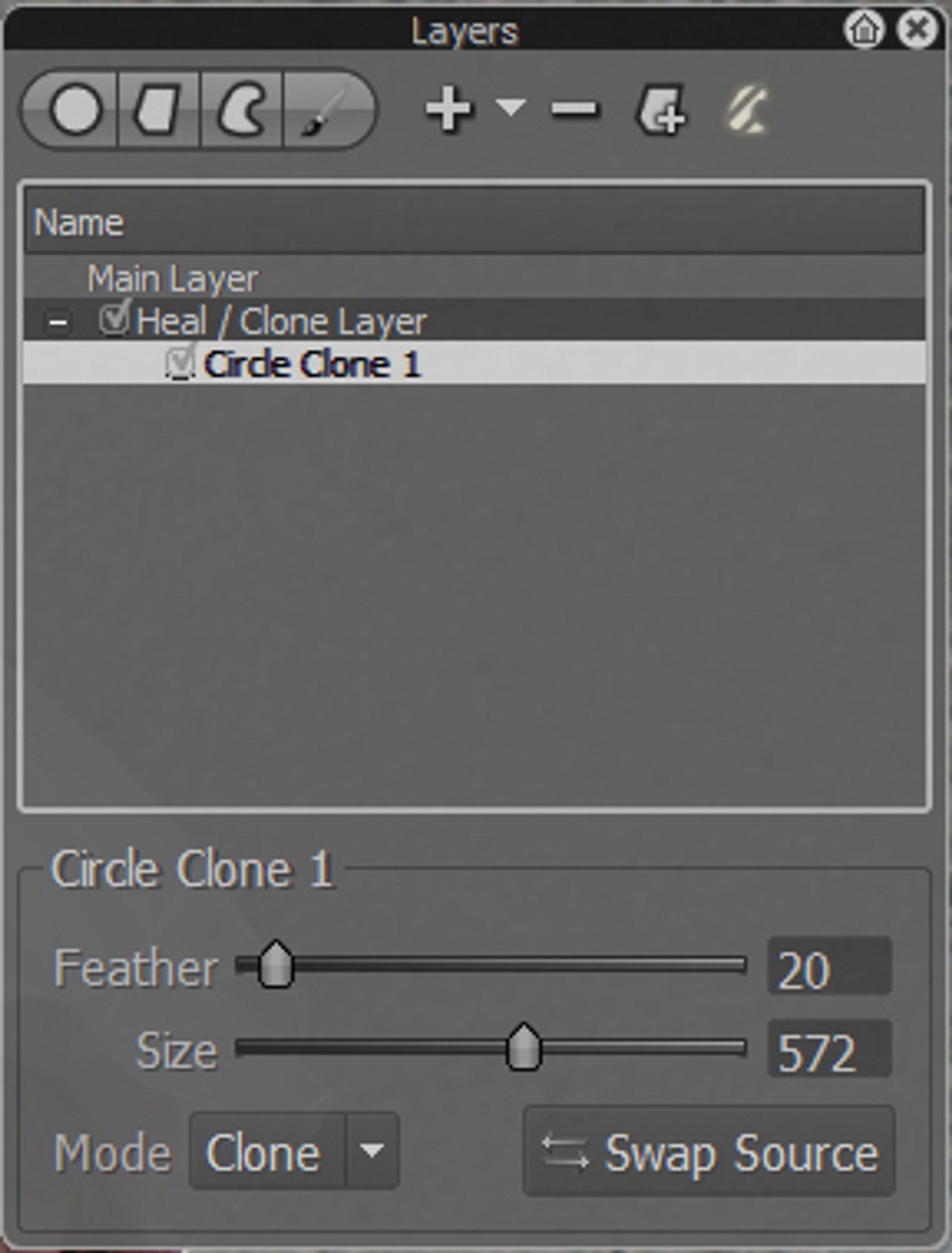 Kloneverktøy i Bibble 5.1