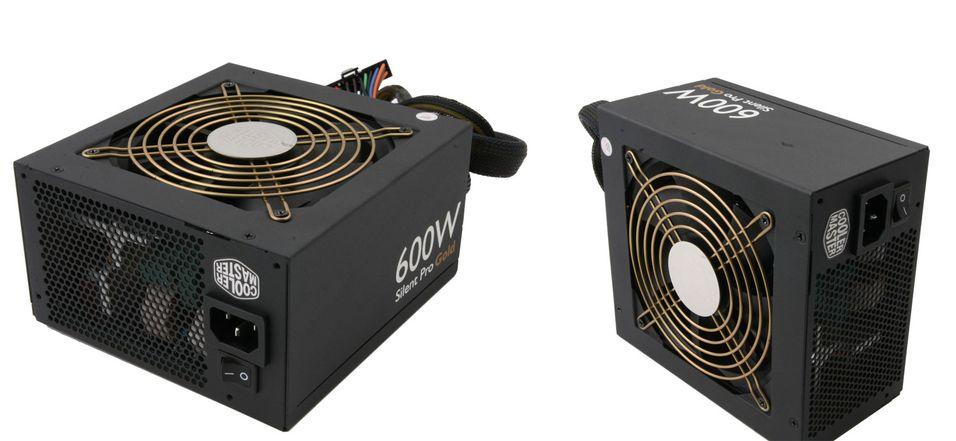 TEST: Cooler Master Silent Pro Gold 600 W