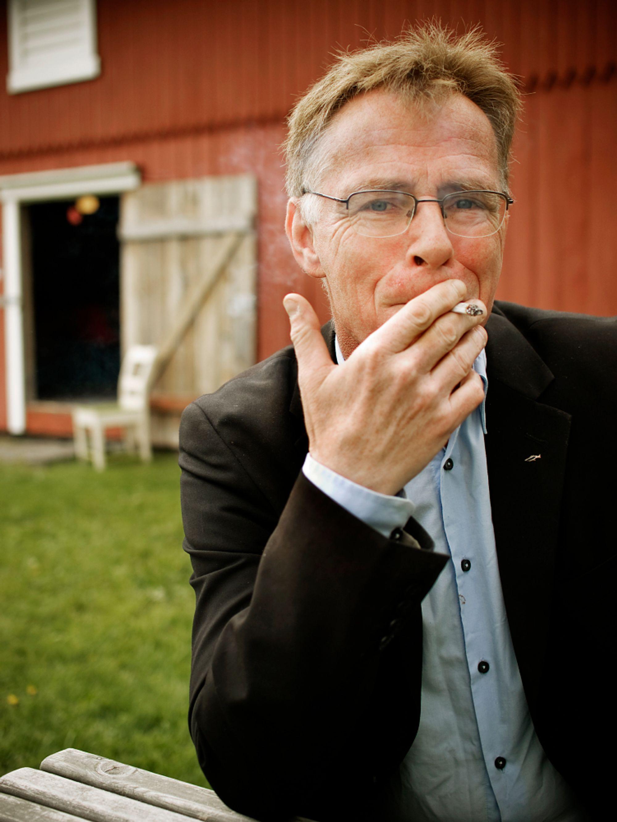 Fotograf Rune Johansen har knapt bytter blender, lukkertid eller ASA-verdi på mange år. Foto: Simon Aldra