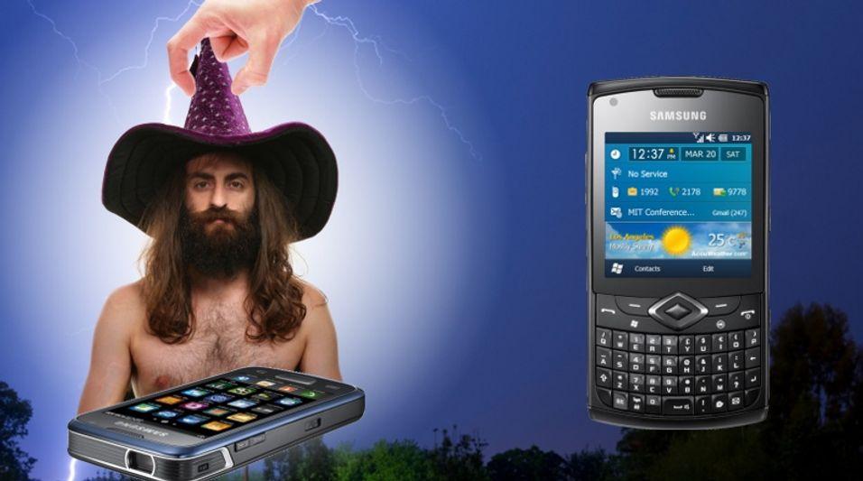Samsung lanserer syv nye mobiler