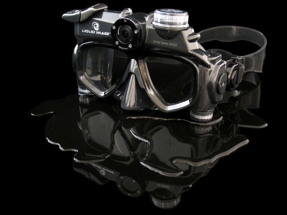 Ny dykkemaske med kamera