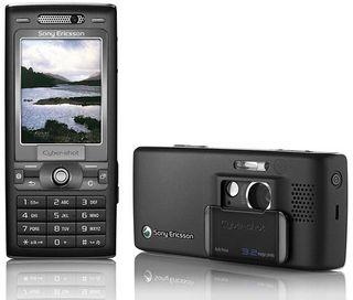 K800 så til forveksling ut som et kompaktkamera.