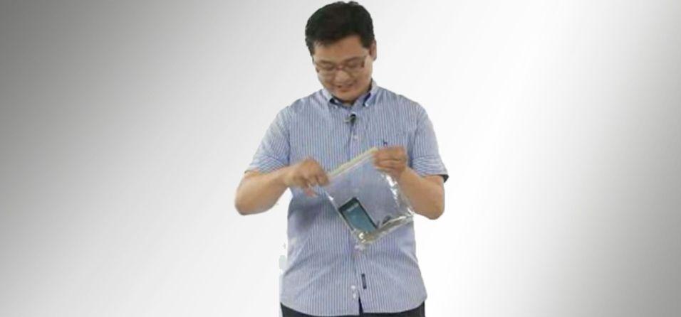 Hvor mye juling tåler Galaxy S?