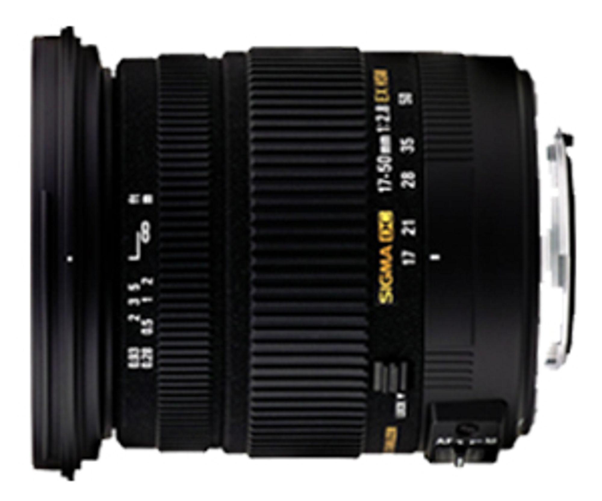 Sigma 17-50 mm F2.8 EX DG OS HSM.