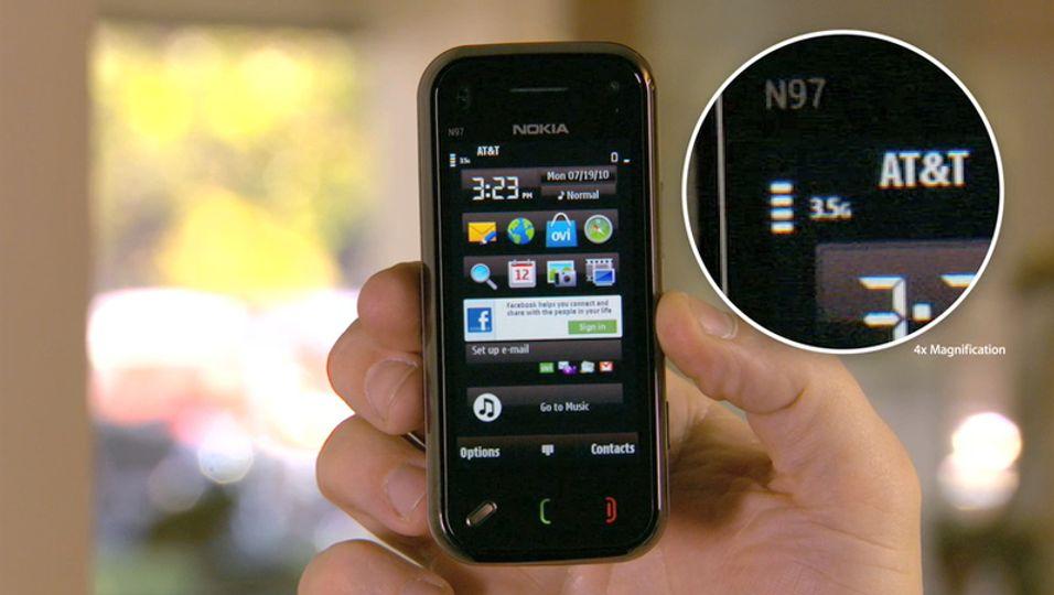 – Nokia N97 Mini mister også dekning