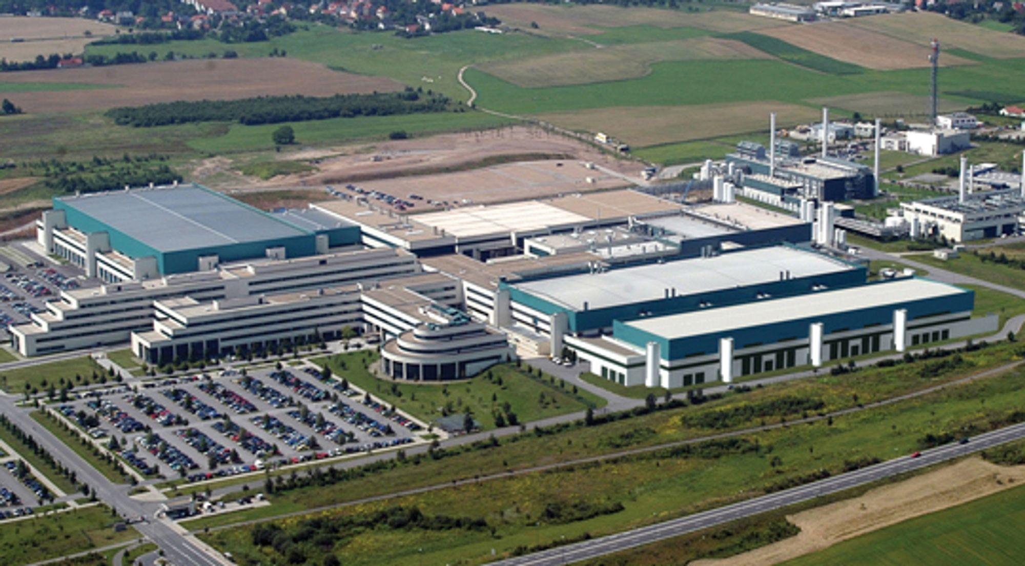 Anlegget i Dresden som skal produsere ved 28 nm.