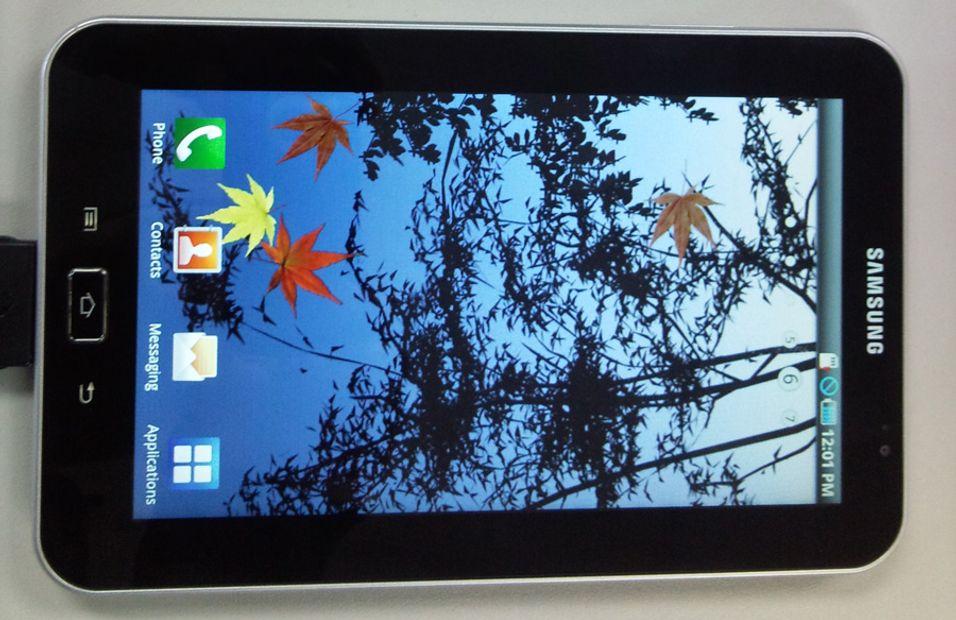 Galaxy Tab lanseres om en uke