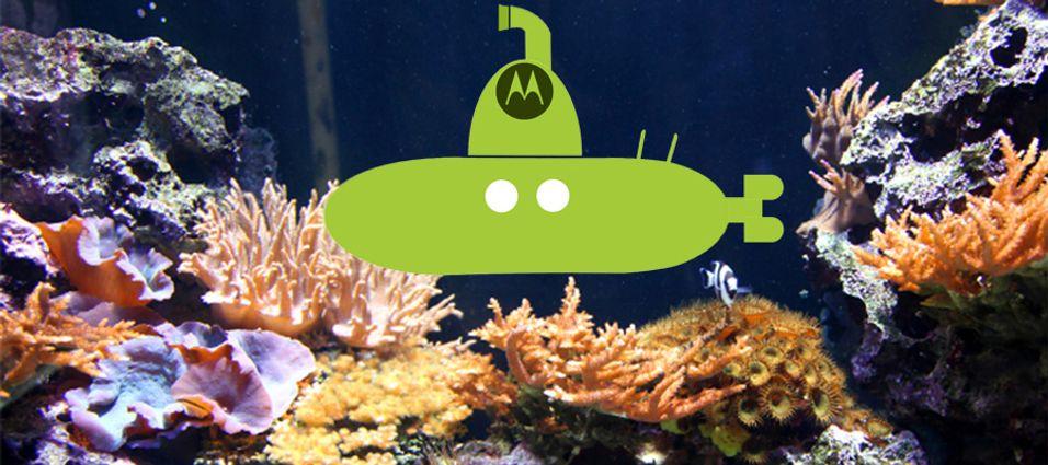Motorola sender Android til bunns