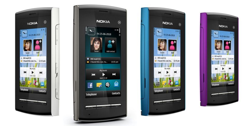 Nokia 5250 titter frem