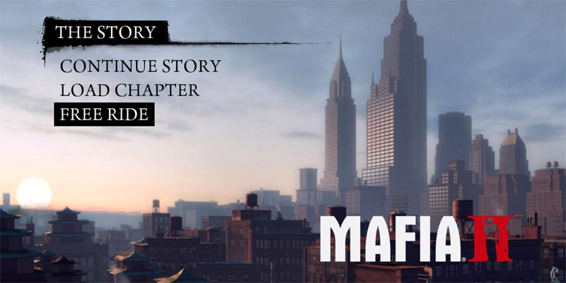 Mafia 2 har allikevel Free Ride-modus