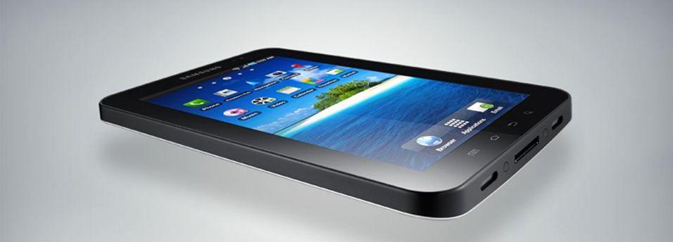 Samsung lanserer Galaxy Tab