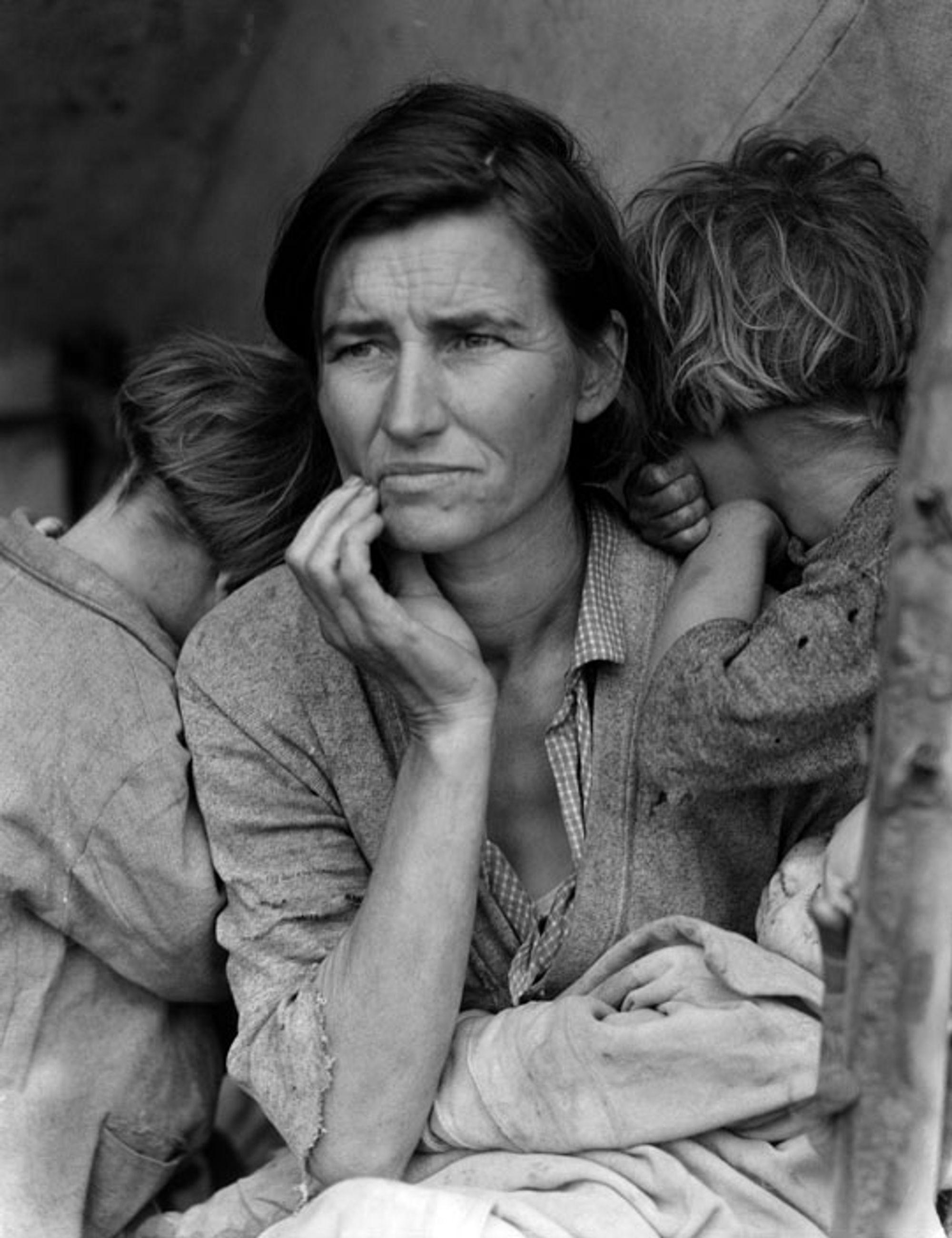 Dorothea Langes berømte bilde