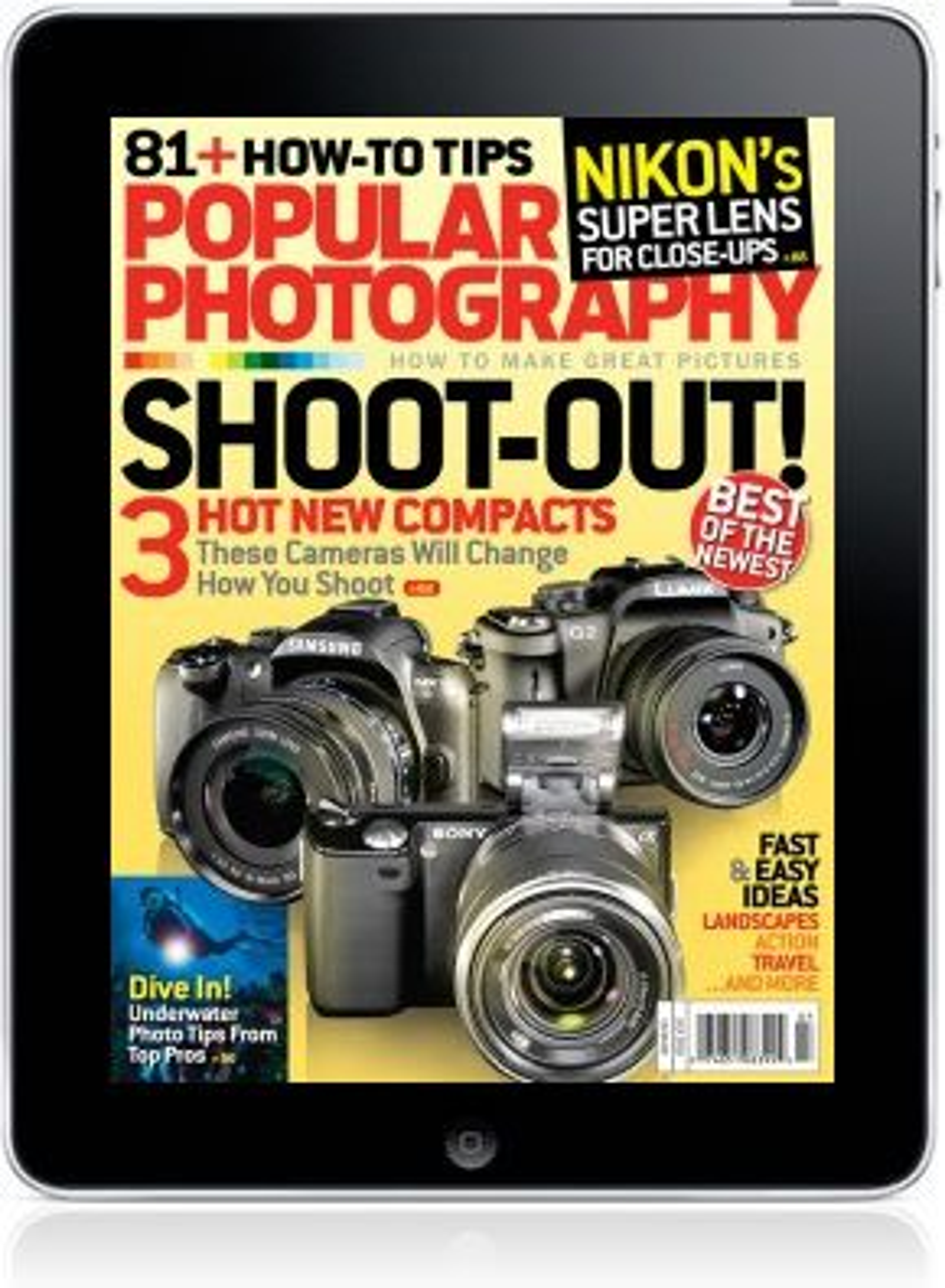 Popular Photography+ har lansert egen applikasjon for Ipad.