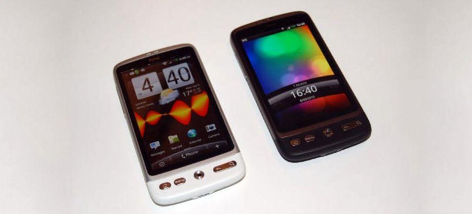 HTC lager hvit Desire