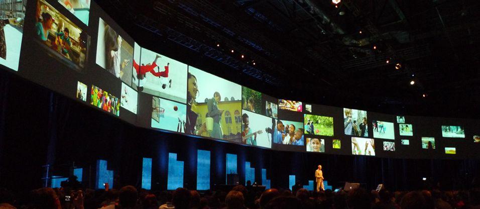Her fra Nokia World i London for to år siden – det siste året Nokia hadde fullt fokus på Symbian som operativsystem.