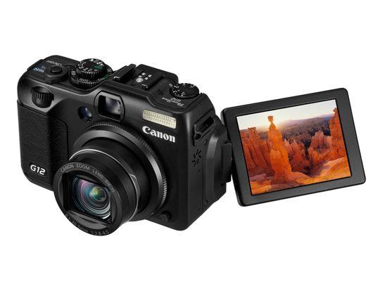Canon PowerShot G12.