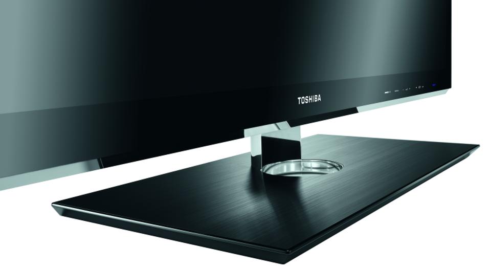 Stilren 3D-TV fra Toshiba