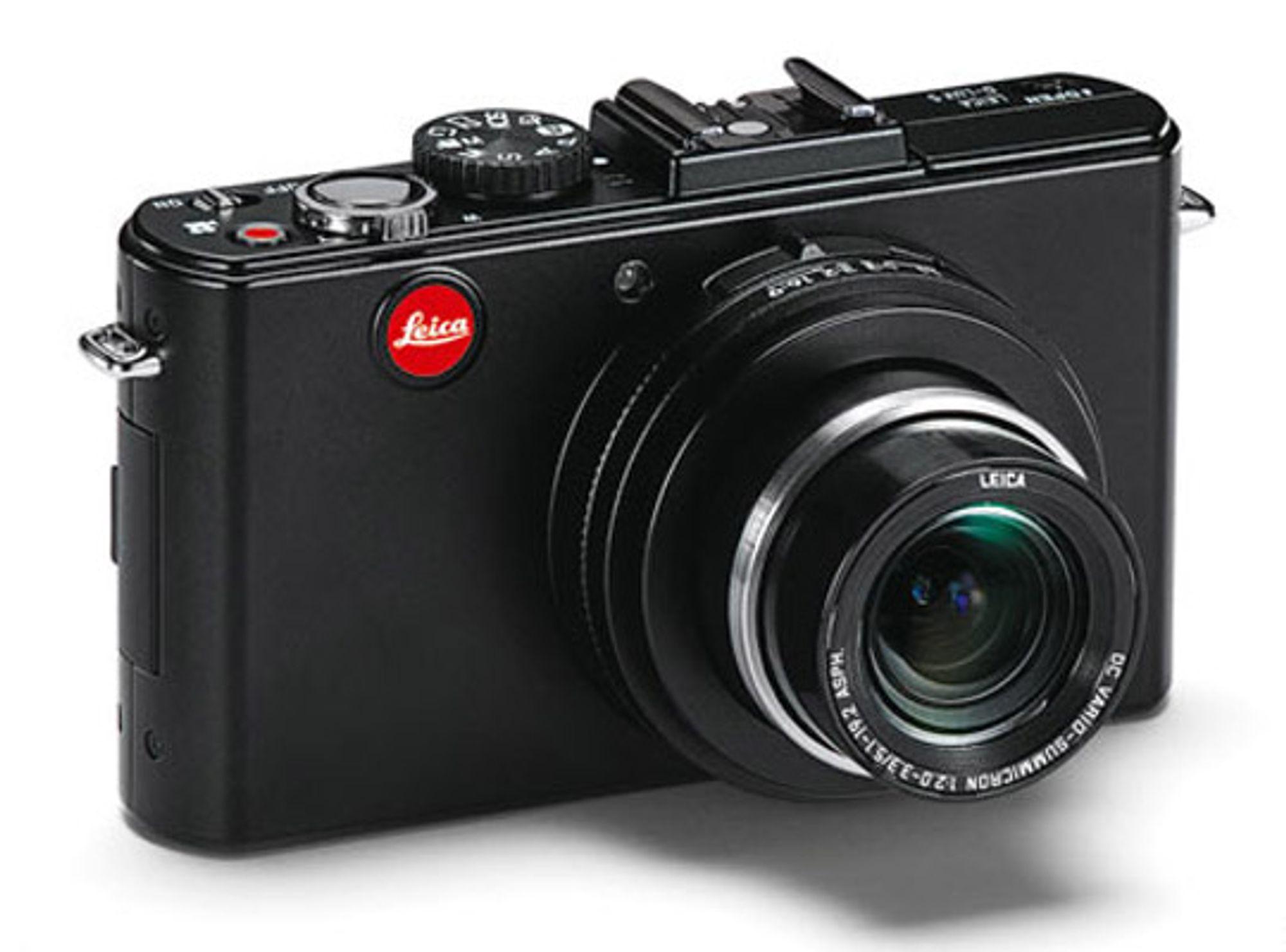 Leica D-Lux 5 har mulighet for mange manuelle instillinger. FOTO: Produsenten.