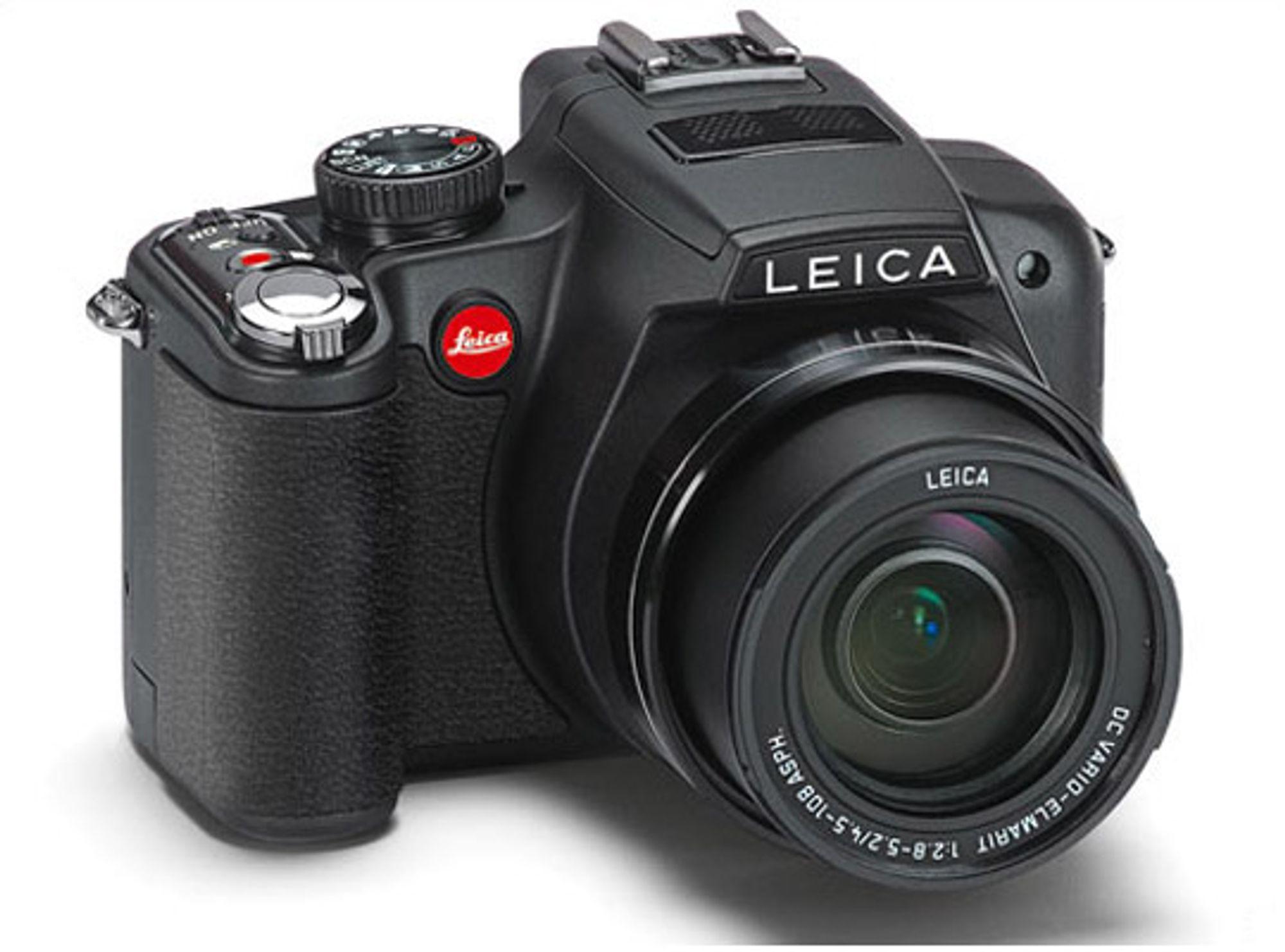 Med V-Lux 2 slipper du å bytte objektiv. FOTO: Produsenten.