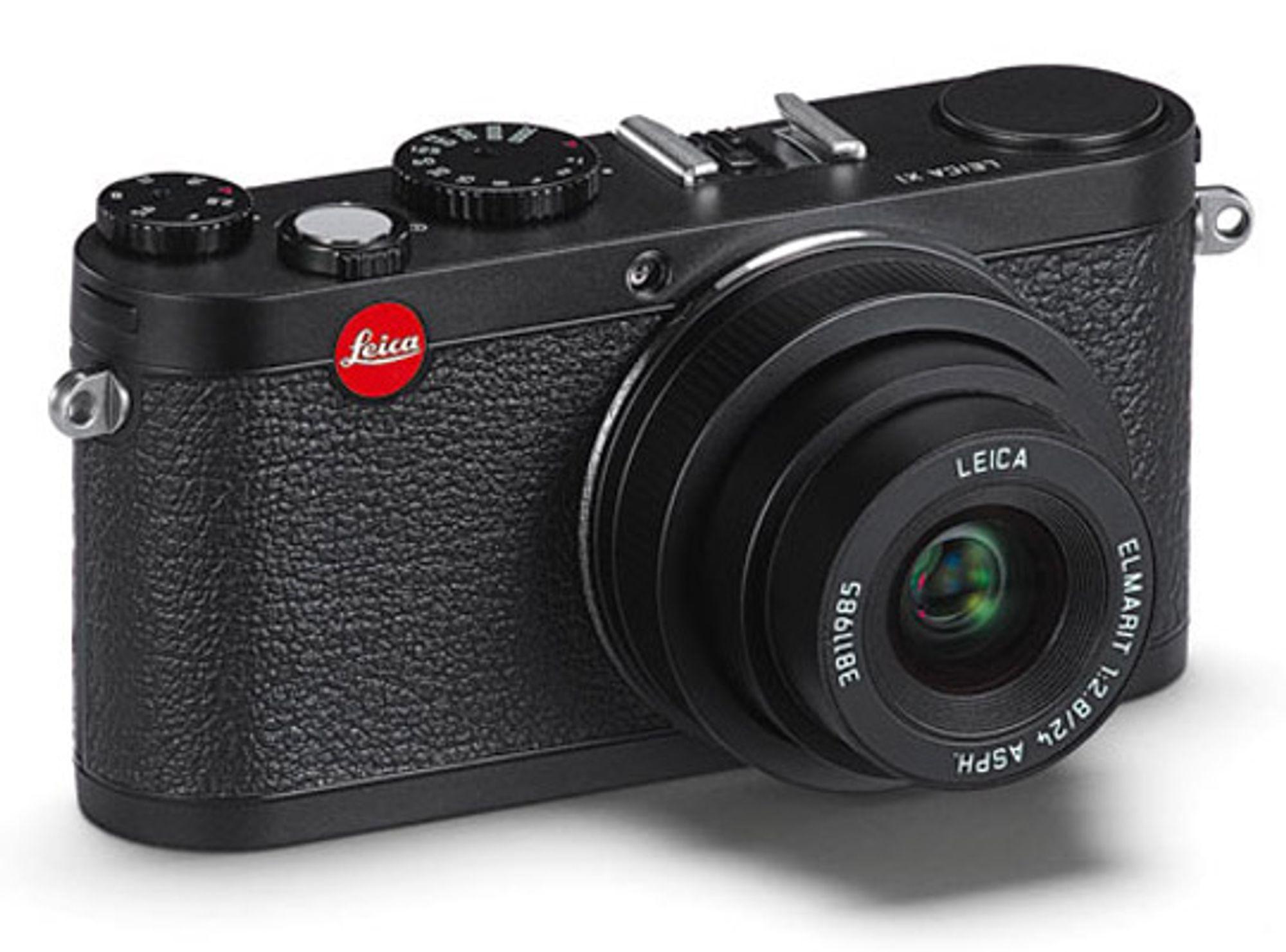 Ser man helsvart på privatøkonomien er ikke Leica X1 noe for deg. FOTO: Produsenten.
