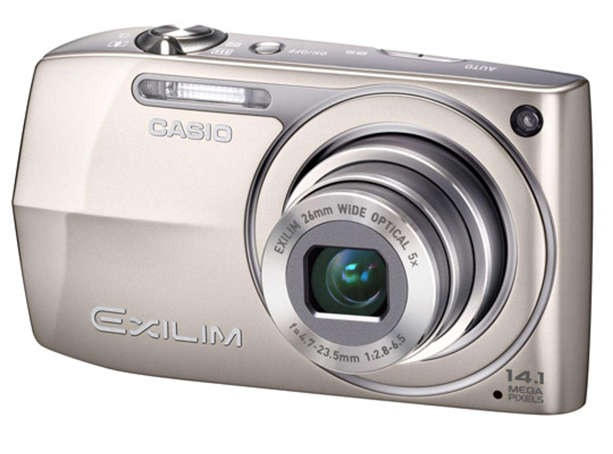 Casio Exilim EX-Z2300. FOTO: Produsenten.