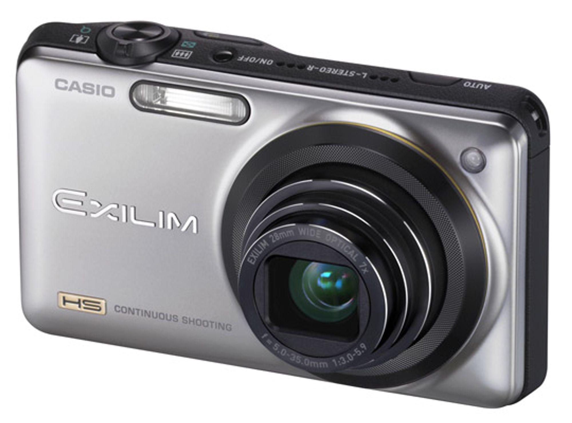 Casio Exilim EX-ZR10. FOTO: Produsenten.