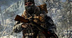 Zombiene angriper i Call of Duty: Black Ops