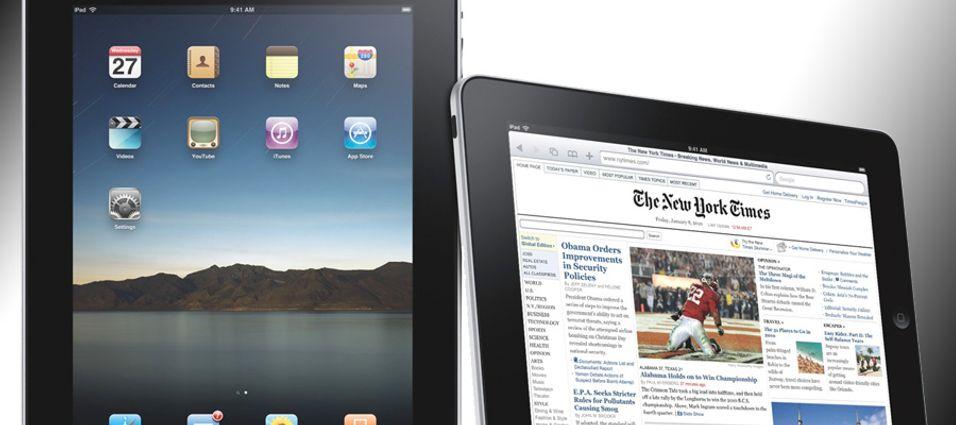 Telenor og Netcom med Ipad-abonnementer
