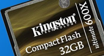 Raskere Compact Flash fra Kingston