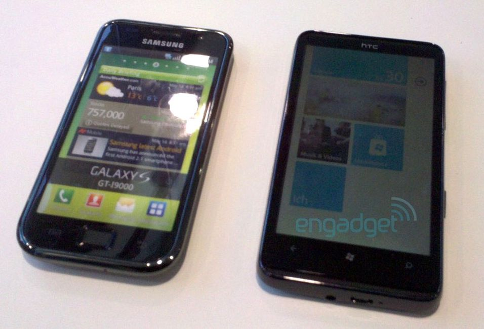 Se video av HTC HD7