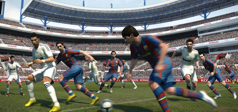ANMELDELSE: Pro Evolution Soccer 2011