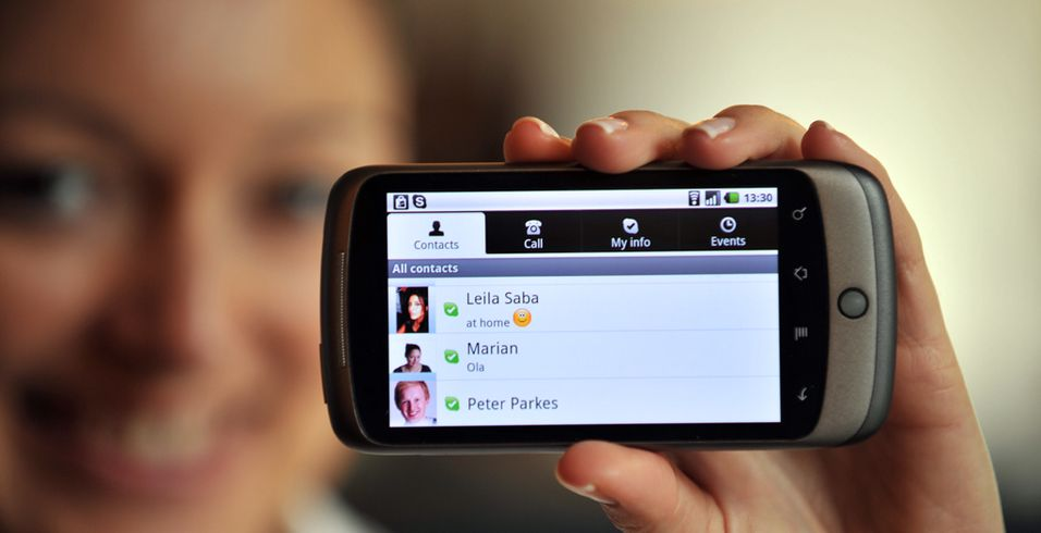 Nå kan du bruke Skype på Android