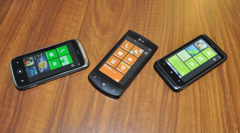 SNIKTITT: Windows Phone 7-telefonene
