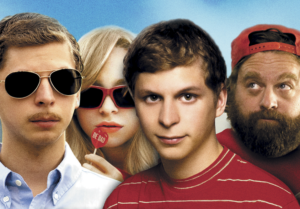 Michael Cera, Portia Doubleday og Zach Galifianakis i Youth in Revolt.