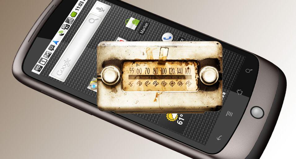 Nå kan du få radio på Nexus One