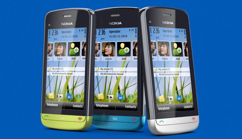 Nokia lanserer C5-03